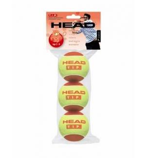 SACHET DE 3 BALLES HEAD TIP ROUGES