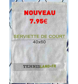 SERVIETTE DE COURT TENNISLAND