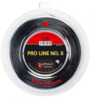 BOBINE KIRSCHBAUM PRO LINE II 200M NOIR/ROUGE