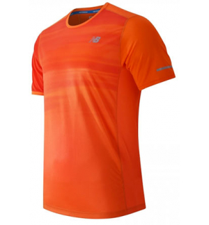 MAILLOT NEW BALANCE ICE SS ORANGE