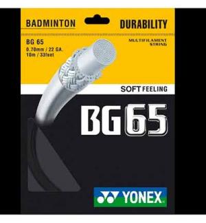 CORDAGE YONEX BG65 10M