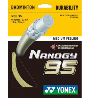 CORDAGE YONEX NANOGY 95 10M