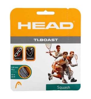 CORDAGE DE SQUASH HEAD TI BOAST 1.30MM